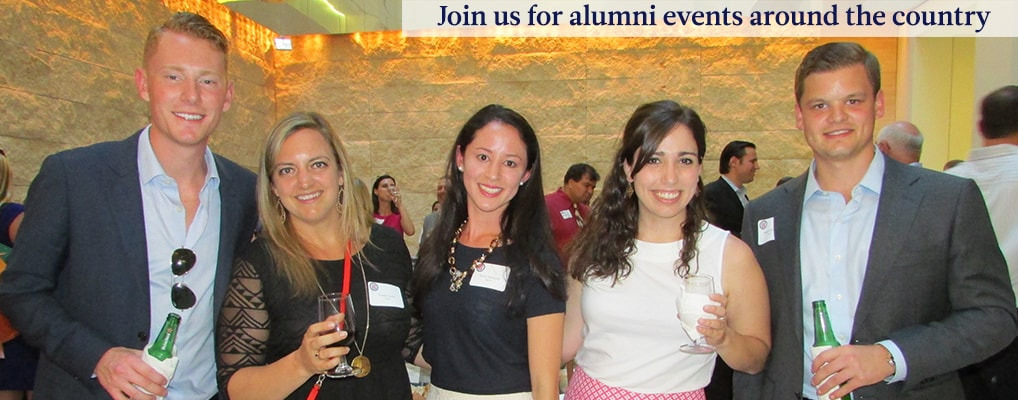 Join us for Alumni events