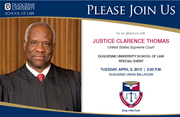 Justice Thomas event